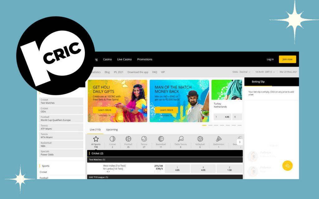 10Cric website