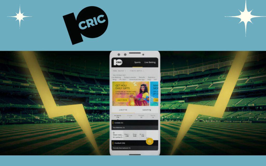 10Cric mobile app