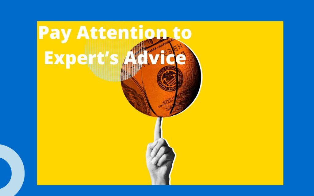 When it comes to betting predictions, make sure that you pay attention to the expert's advice